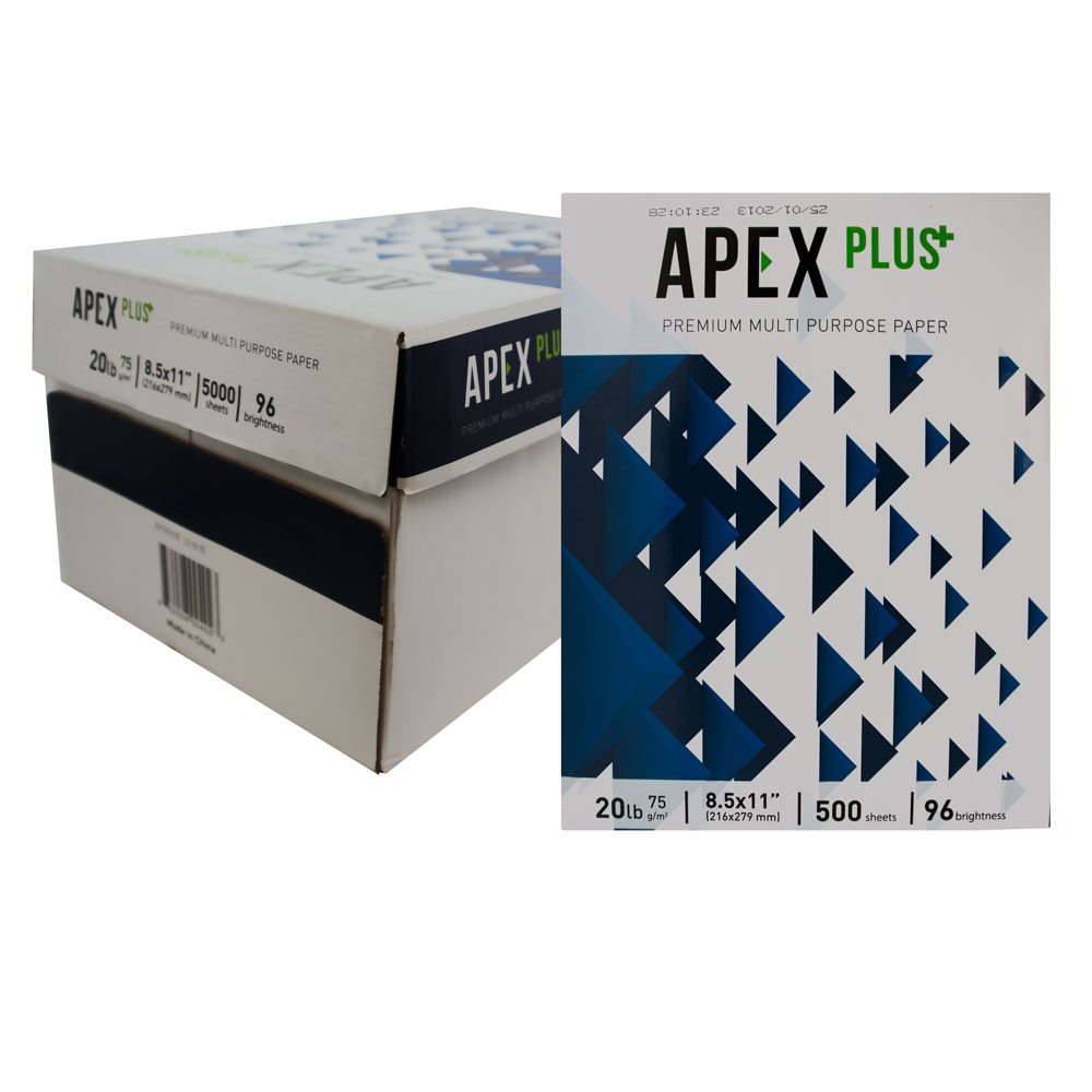 Apex Plus White Copy Paper (ZB-00402)