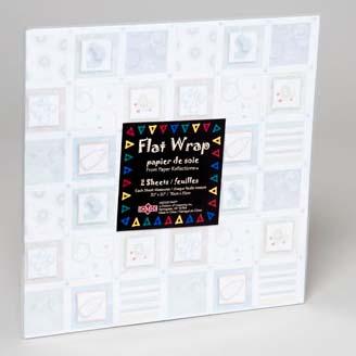 Baby Print Flat Wrap Sheets (LI-09164)