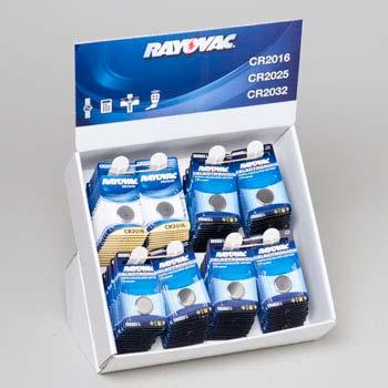 Batteries Lithium Button Asstd Pd (LI-0903)