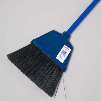 Broom 46.5in 4 Colors Black Bristles W Metal Handle (LI-11195)