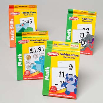 Playskool Math Learning Cards 36ct Addition/subraction in Pdq (LI-11504)