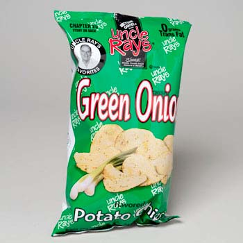 Potato Chips Green Onion (LI-0804)