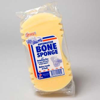 Sponge Auto Yellow Bone Shape (LI-01105)