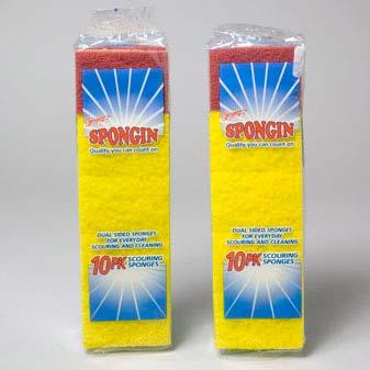 Sponge Scouring Foam Scour Multi Color (LI-01647)