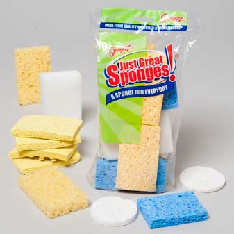 Sponges Just Great Assorted Bargain Pack (LI-015005)