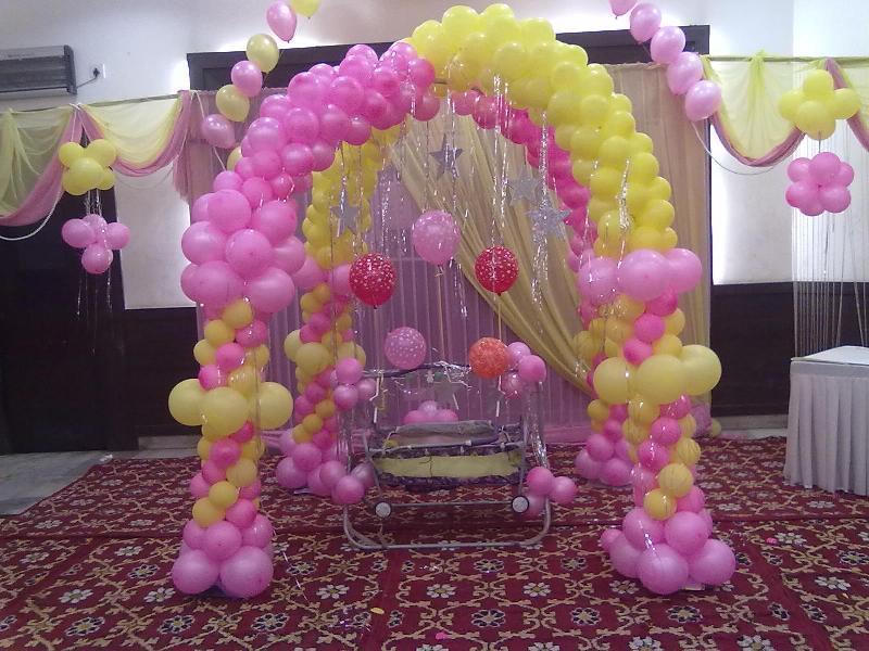 First Birthday Decoration Services 01
