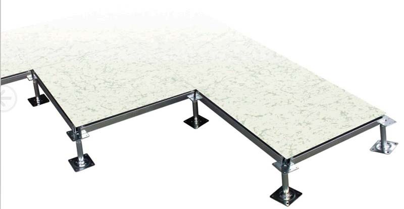 Anti Static Floor System : Anti static raised floor system without edge trim