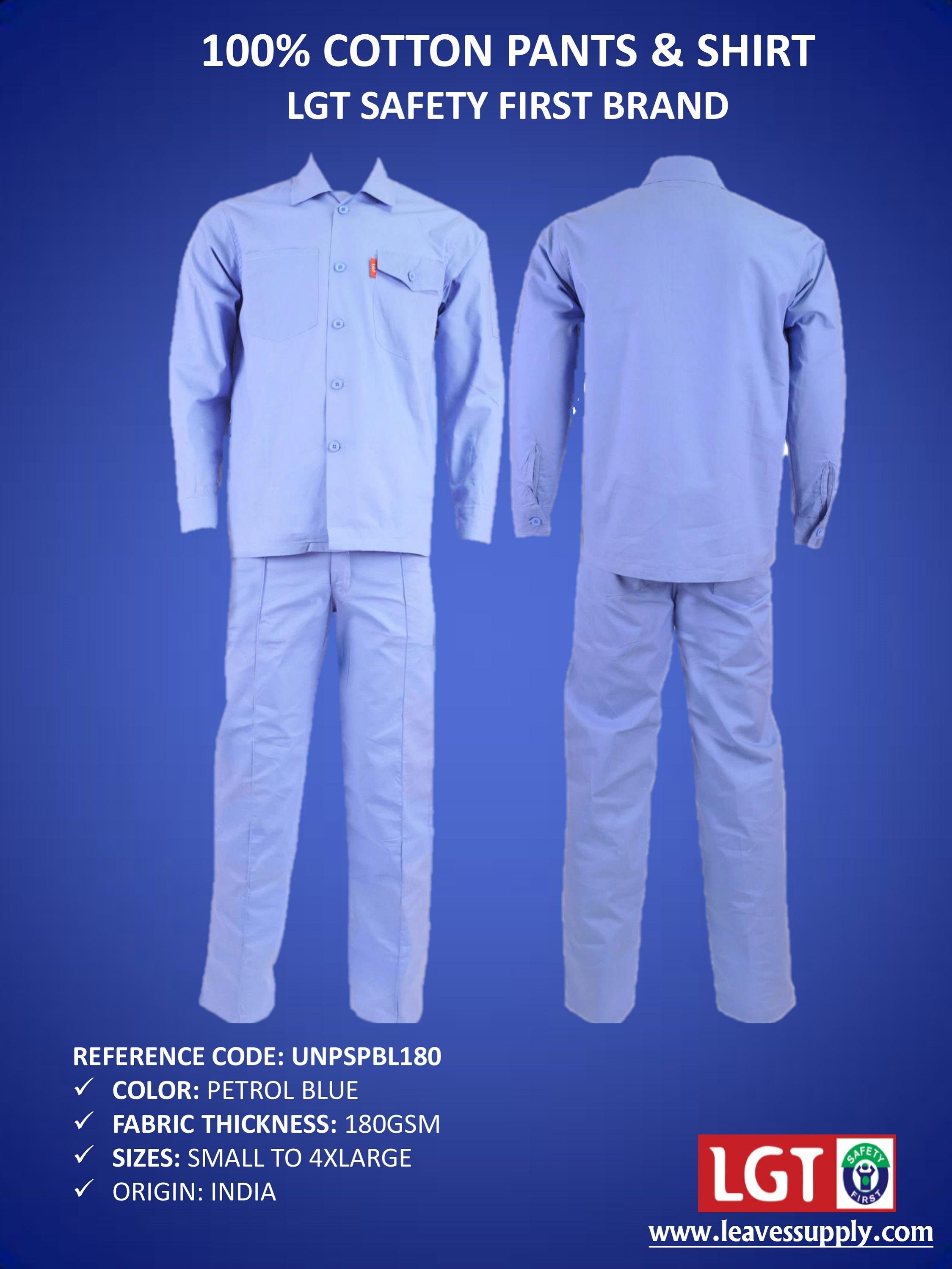 Mens Shirt & Pant Set
