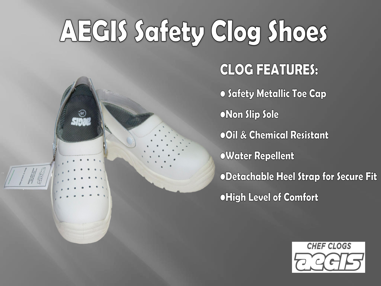 AEGIS Clog Safety Shoes