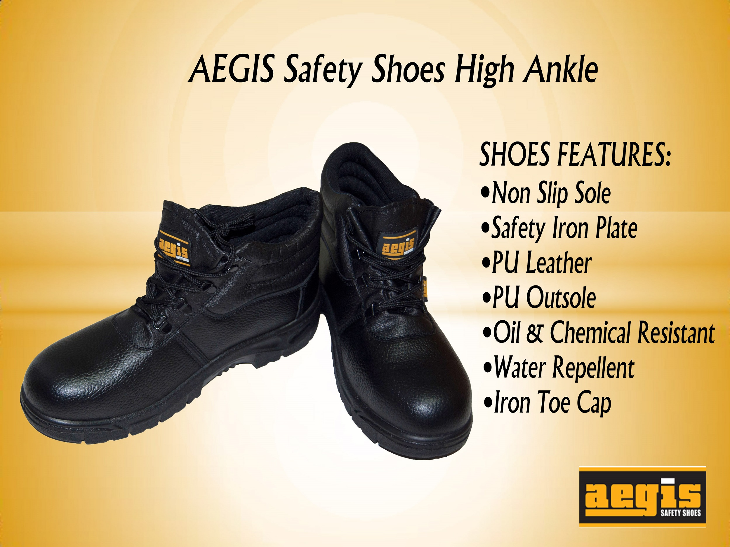 AEGIS High Ankle Safety Shoes