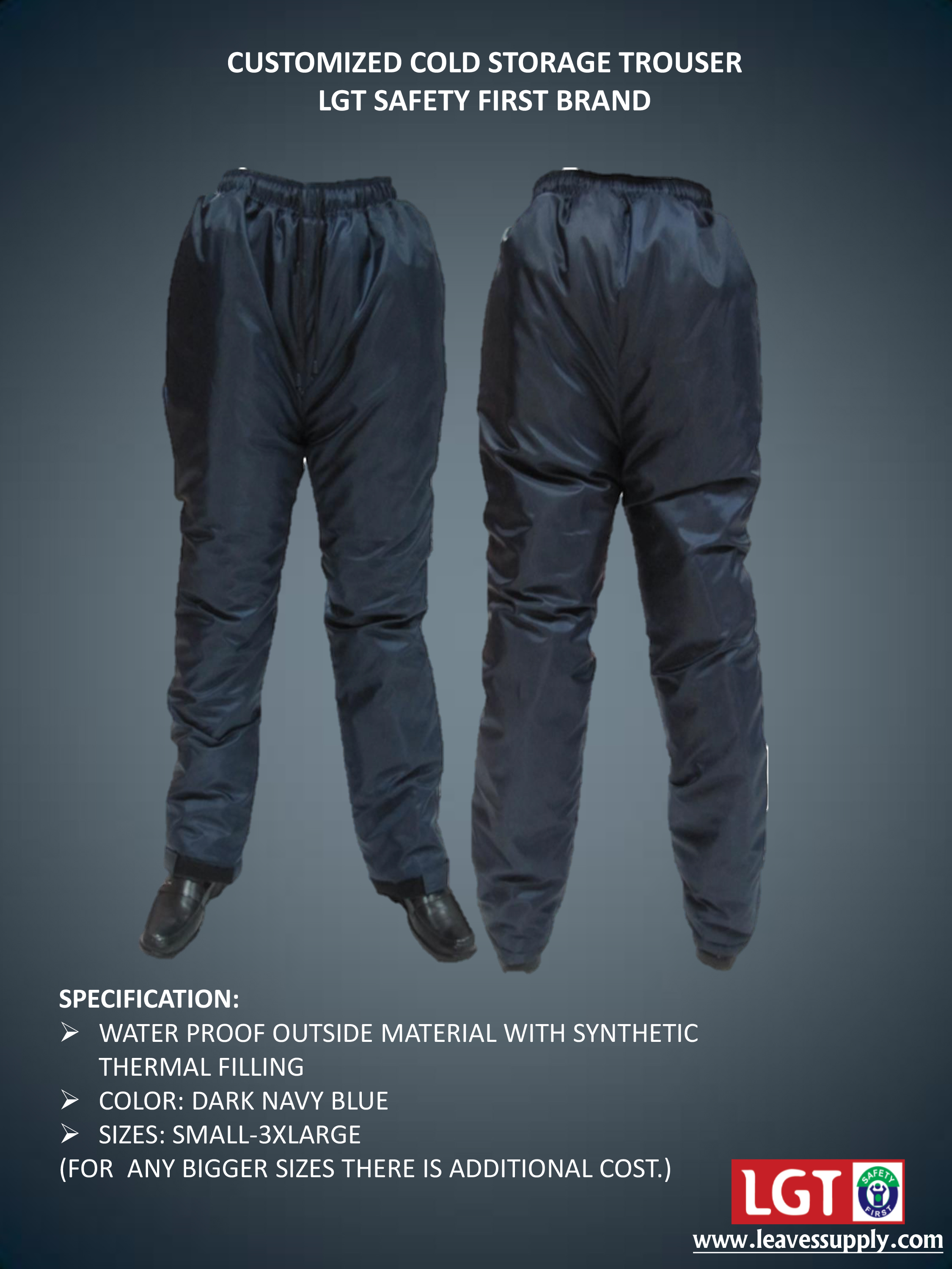 Cold Storage Trousers