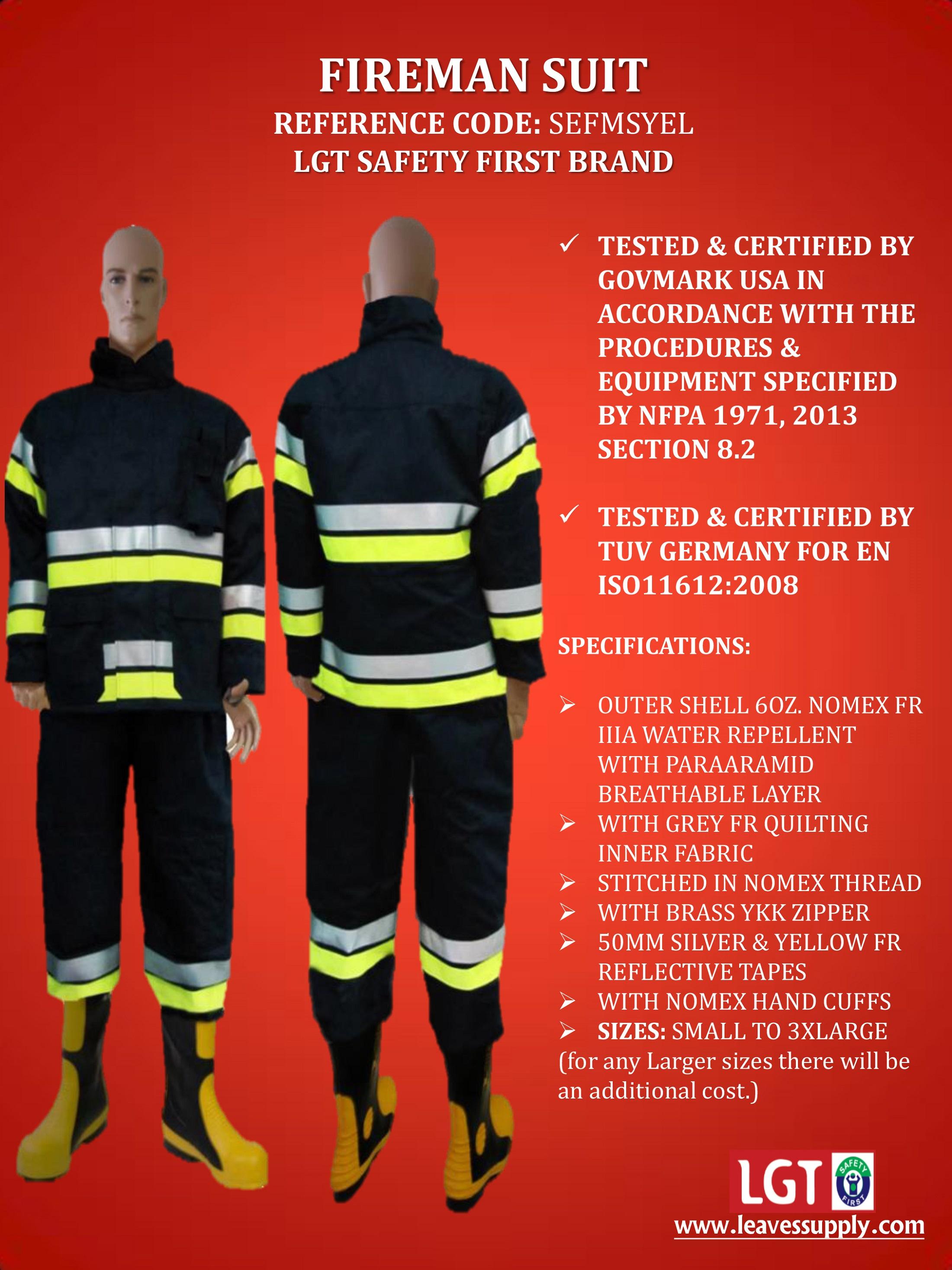 Fireman Suits