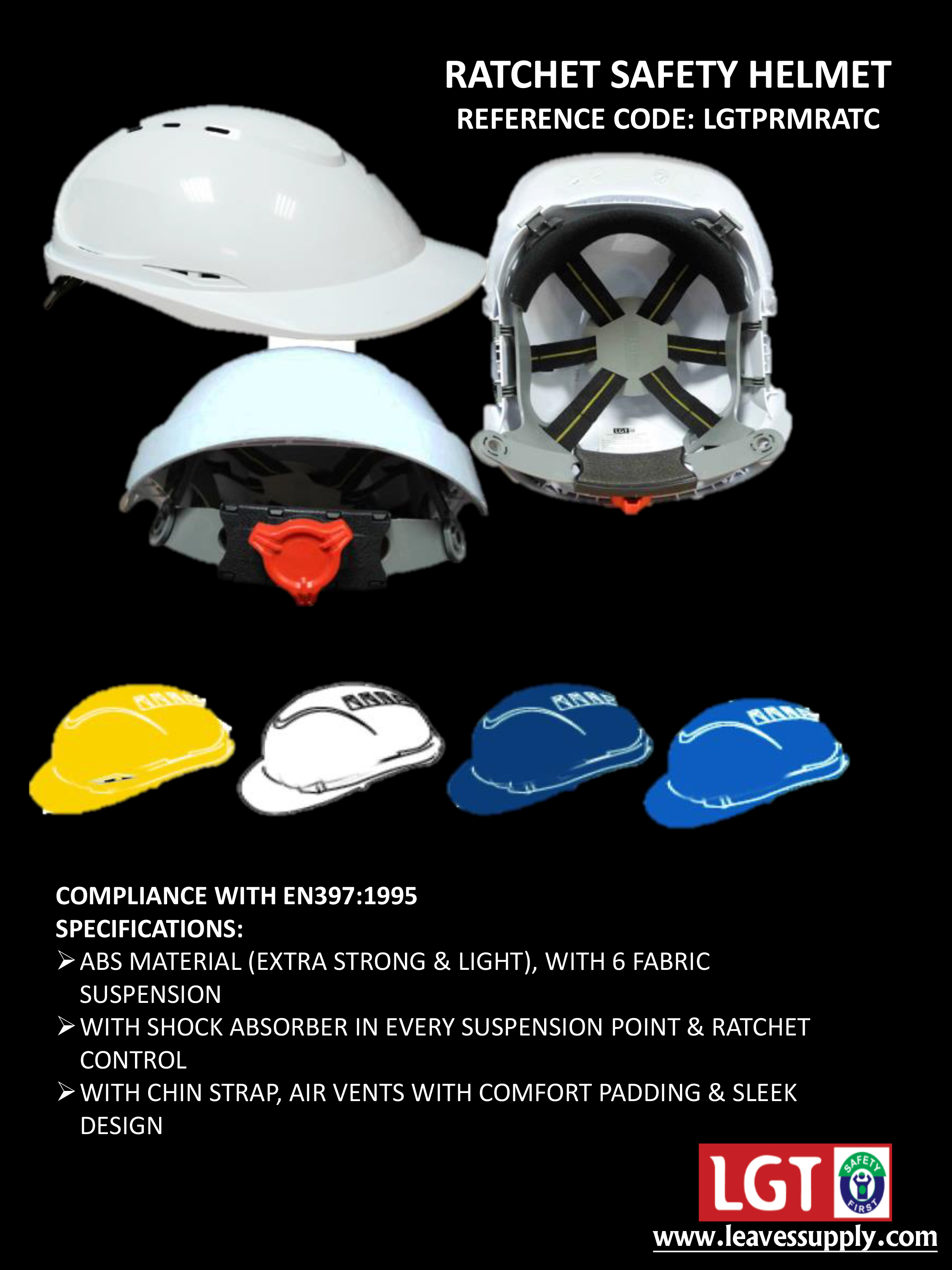 Safety Helmets Manufacturer in Dubai United Arab Emirates by LEAVES