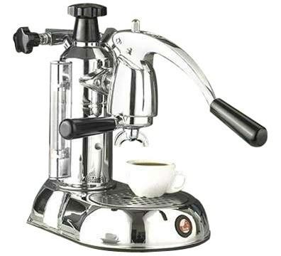 buy la pavoni stradivari manual espresso machine chrome. Black Bedroom Furniture Sets. Home Design Ideas
