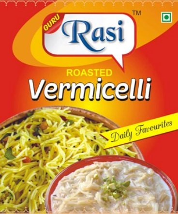 Rasi Vermicelli Manufacturer in Tamil Nadu India by Raasi Products