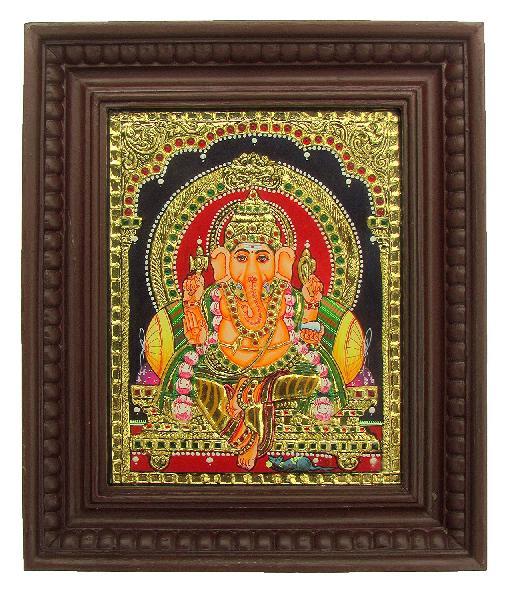 Ganesha Tanjore Paintings (BHTP002)