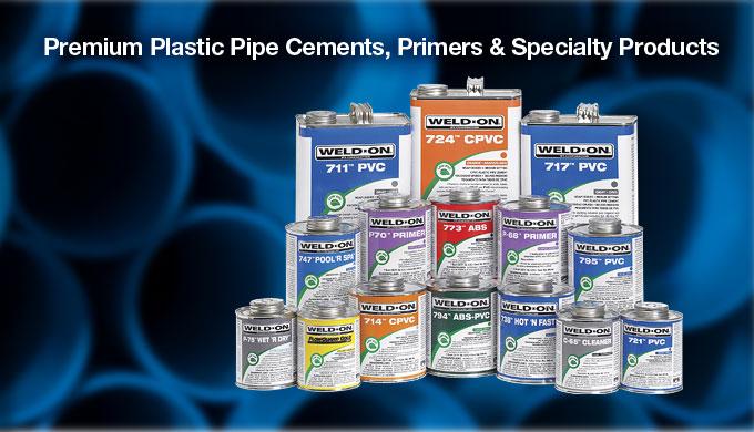 Weldon Adhesive Cements & Primers