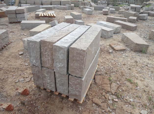 Brown Sandstone Blocks
