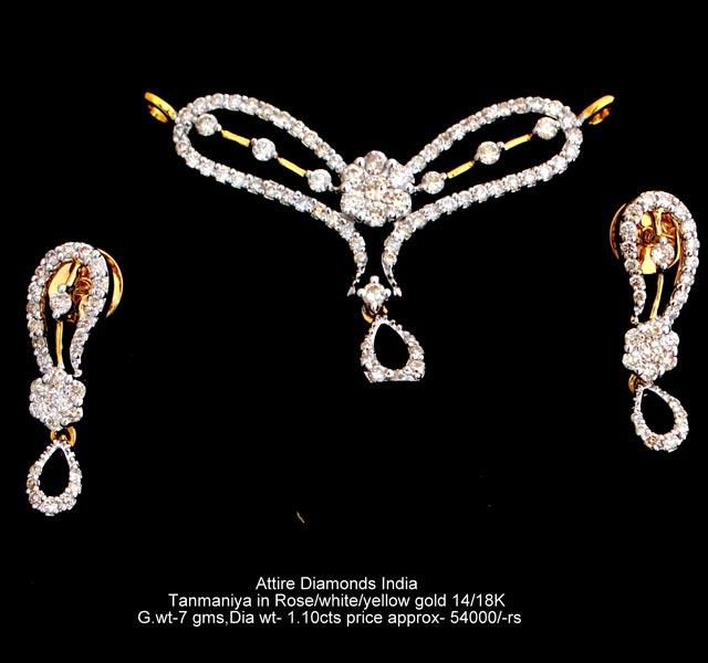 Diamond Mangalsutra Pendants