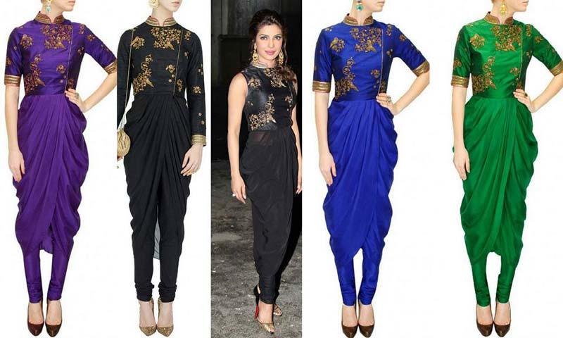 indo western wear Manufacturer in Delhi India by Designer Collection ...
