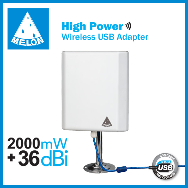 Wifi Usb Adapter 2km Long Range Outdoor Panel Wifi Antenna