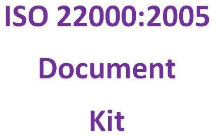 Iso 22000 Documentation Kit for Food Safety Management