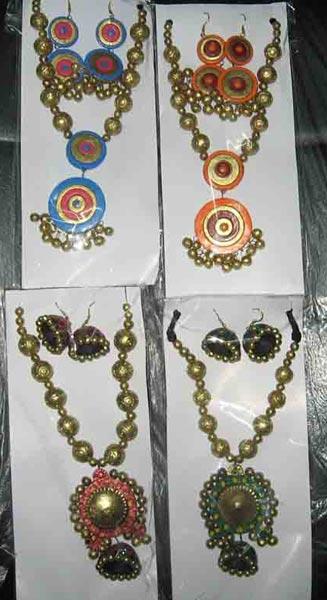 Terracotta Necklace Set