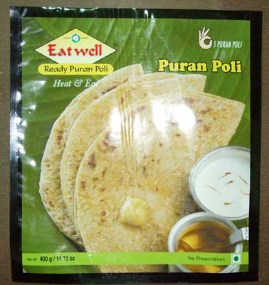 Puran Poli Are You In Search Of Superior Quality Frozen Snacks We Assure To Serve You Best At Shree Enterprises We Bring Forth A Healthy Range Of Organic