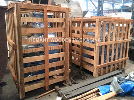 Buy Industrial Wooden Crates From Hemant Wooden Packaging Mumbai