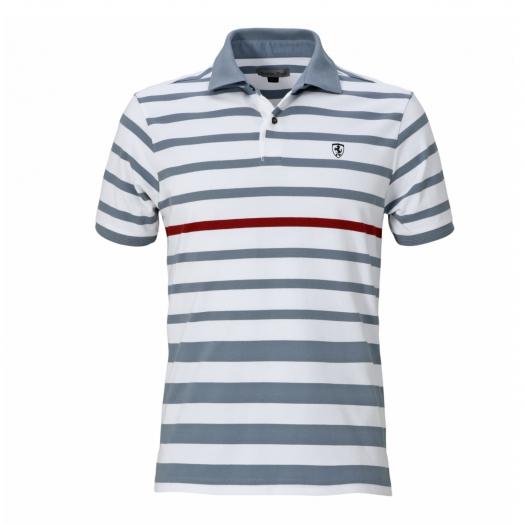 25aa0ba6bb Buy Striped Polo Shirt from Ferrari Customs, United States   ID ...