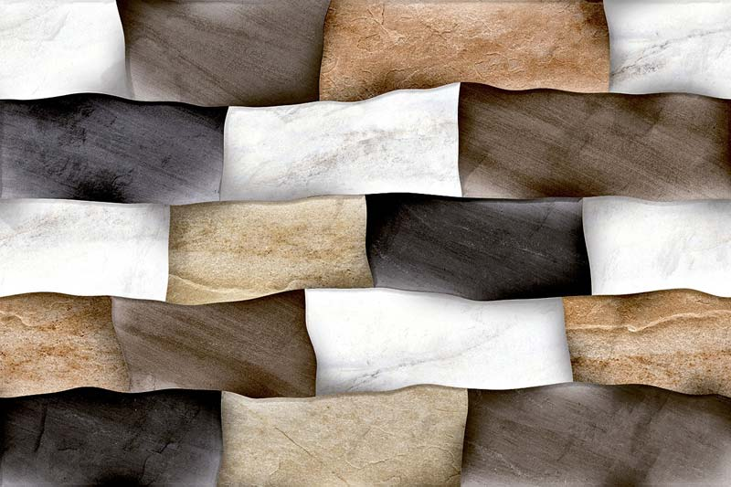 Elevation Matt Series Digital Wall Tiles Manufacturer In Gujarat - Digital elevation tiles