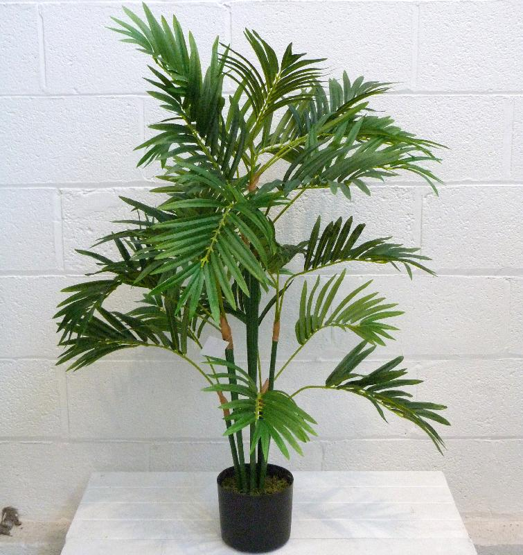 Indoor decoration fake artificial phoenix palm bonsai tree for Artificial flowers for home decoration india