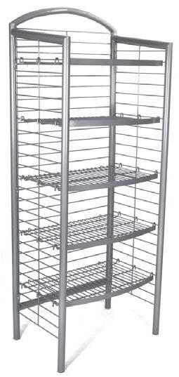 Floor Shelf Display Stand (FX-24)