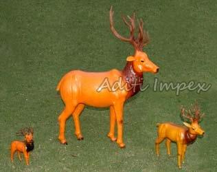 Handicraft Leather Deer Sculpture Manufacturer In Indore Madhya