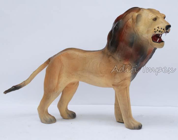 Handicraft Leather Lion Sculpture Manufacturer In Indore Madhya