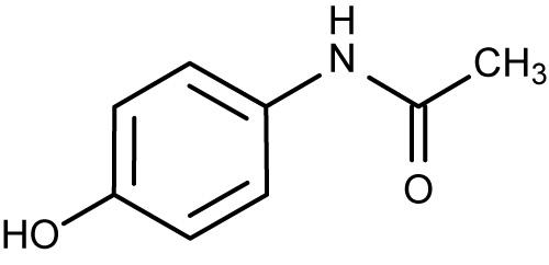 Image result for paracetamol chemical formula