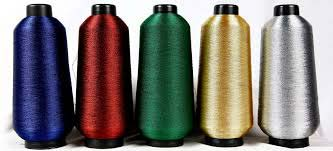 Embroidered Zari Kasab Threads