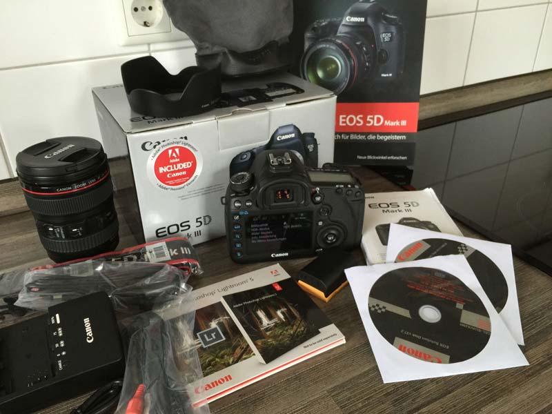 Canon Eos 5d Mark Iii 22.3 Mp Digital Slr Camera (Canon EOS 5D)