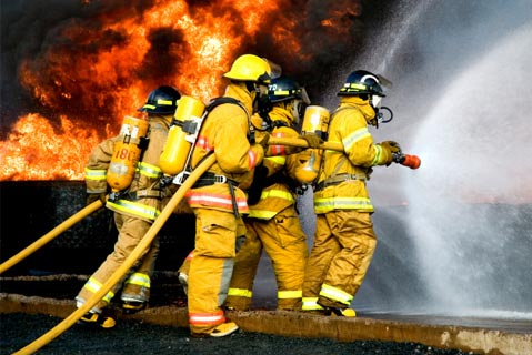safe operation and fire protection on