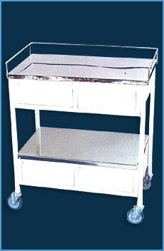 Medicine Trolley with 4 Drawer (USI-1057)