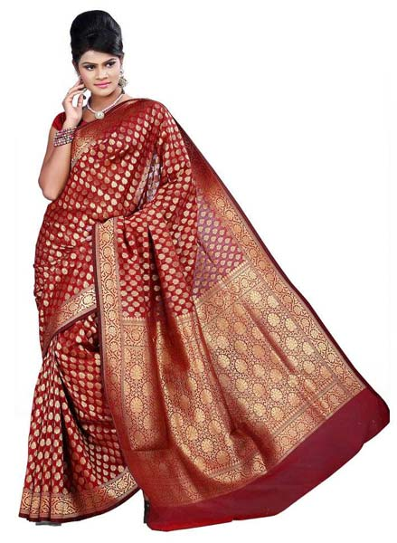 44d4d8e4ac Banarasi Sarees Manufacturer & Exporters from Chennai, India | ID ...