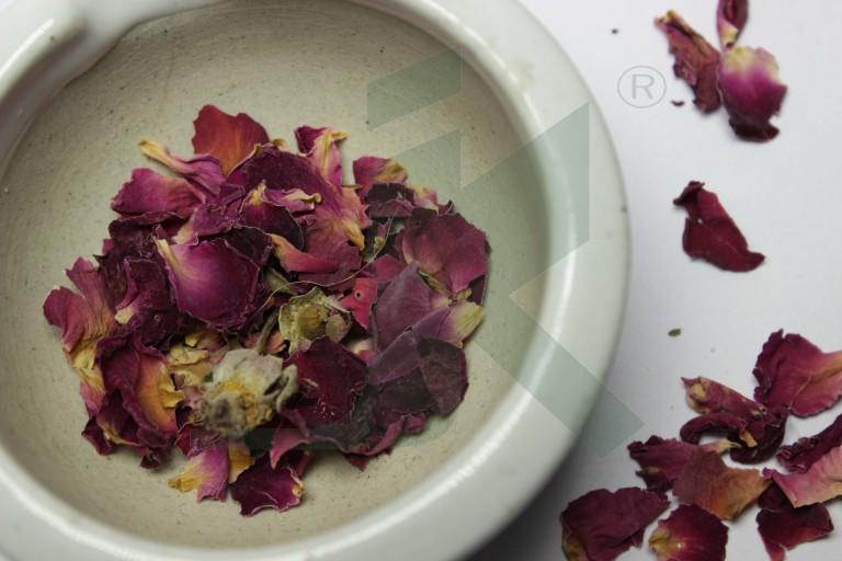 ROSA DAMASCENA (pink rose flower)