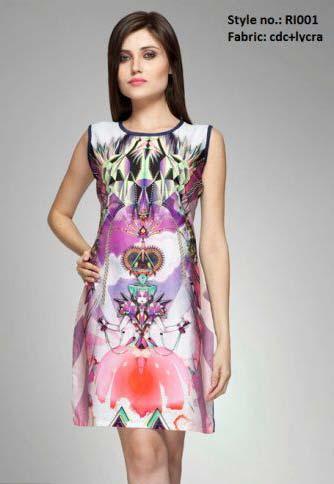 Ladies One Piece Dress
