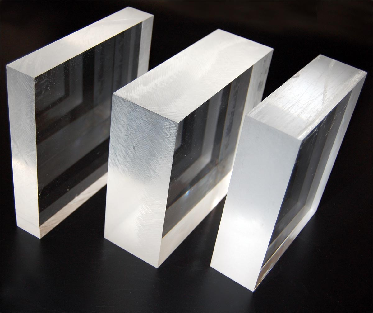 Thick Cast Acrylic Sheet Construction Used Manufacturer in