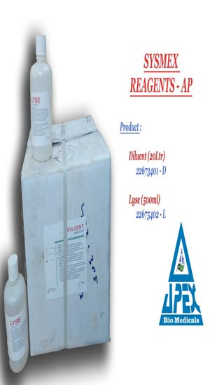 Laboratory Sysmex Hematology Reagents Manufacturer in Delhi India by