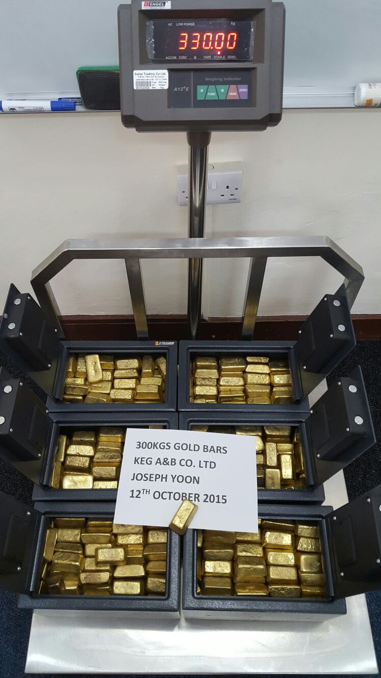 Buy Gold Dore Bars from Bakansuku commodities, Tanzania