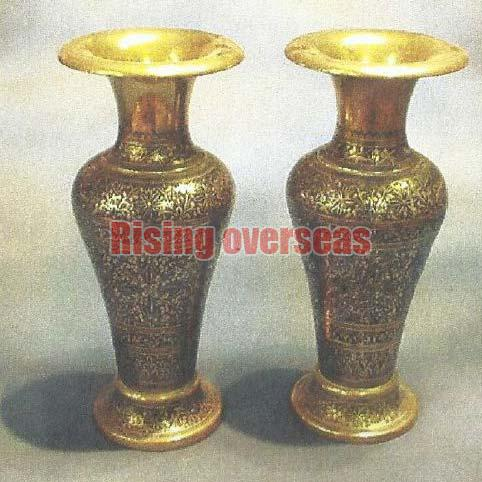 Brass Flower Vases Manufacturer In Kolkata West Bengal India By