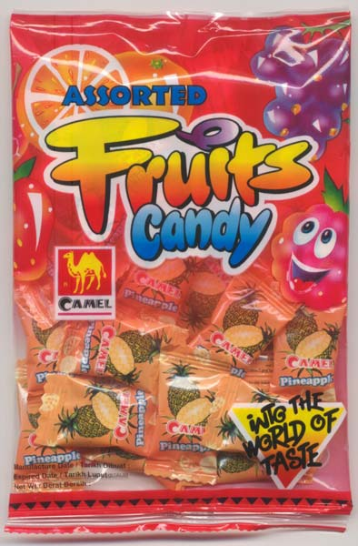 Camel Pineapple Flavoured Candy (85 GM) Manufacturer in