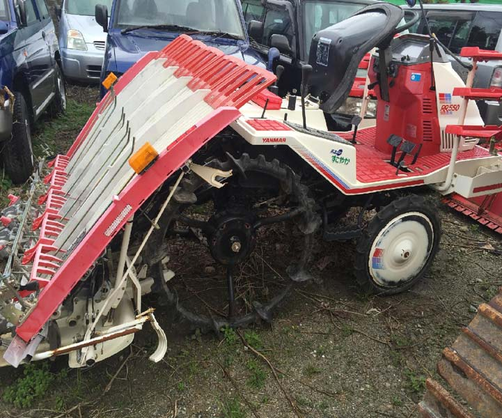 Used Transplanter Yanmar Rr550 Unit 2 Exporters in Japan by Cosmos