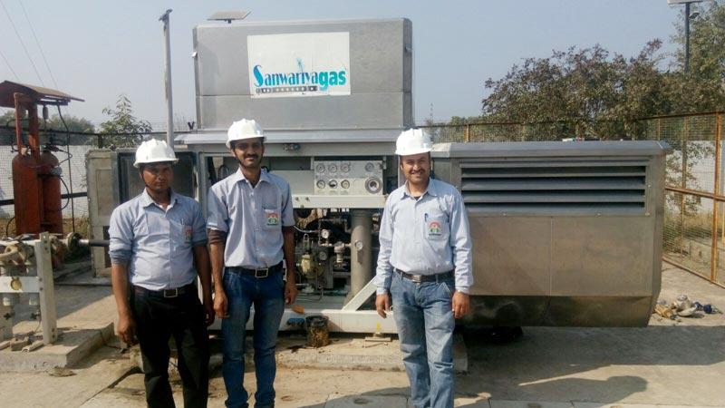 CNG Compressor Maintenance Services